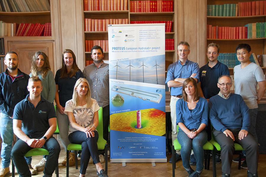 Scour researchers kicked off the EU PROTEUS project